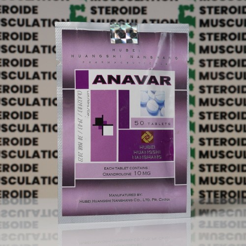 Anavar (Oxandrolone) 10 mg Hubei Huangshi Nanshang | SMC-0195