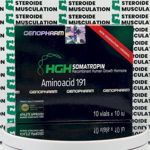 HGH Somatropin Amino acid 191 10 IU Genopharm | SMC-0290 buy