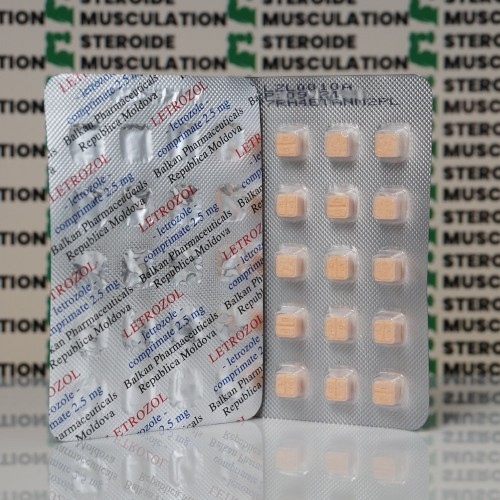 Letrozol 2,5 mg Balkan Pharmaceuticals | SMC-0006 buy