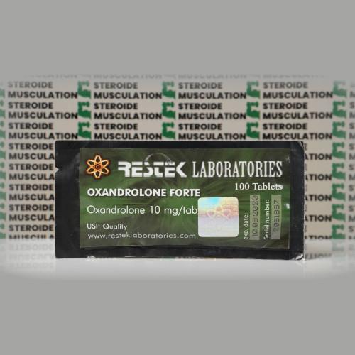 Oxandrolone Forte 10 mg Restek Laboratories | SMC-0199
