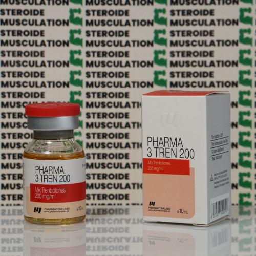 Pharma 3 Tren 200 mg Pharmacom Labs | SMC-0035