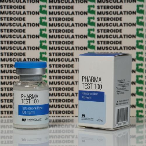 Pharma Test100 (Aquatest) 100 mg Pharmacom Labs | SMC-0085