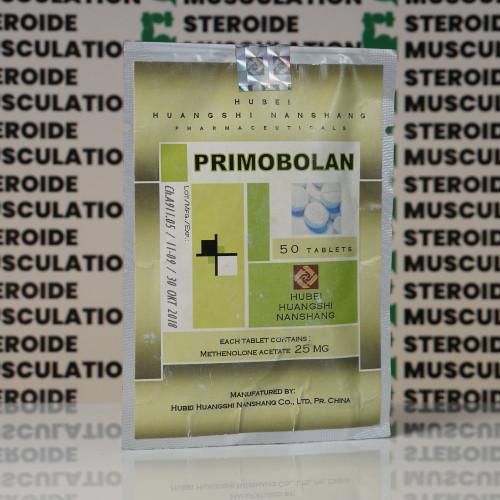Primobolan (Methenolone Acetate) 25 mg Hubei Huangshi Nanshang | SMC-0030